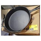 "12 1/2"" Cast Iron Skillet- Fresh Australian"