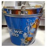 "Bud Light ""Here We Go"" Beer Ice Bucket"