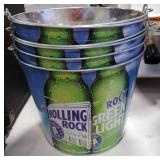 Rolling Rock Beer Ice Bucket