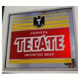 Cerveza Tecate Imported Beer Mirror Advertising