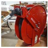 Large Reelcraft Hose Reel w/dual hose lines.