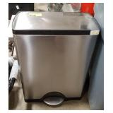Stainless Foot Operated Trash Can