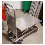 Stainless Hydraulic Lift Cart