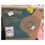 "Air King 18"" 3 speed Oscillating Fan"