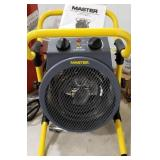 Master Floor heater with manual