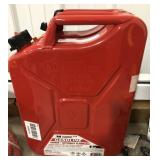 US 5 gallon gas can.
