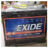 Exide battery 650 cranking amps
