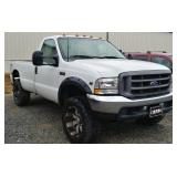 2002 Ford F250 Super Duty Truck
