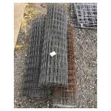 3 spools of metal fencing approx 5ft 2 inches