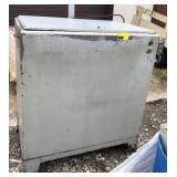 "Metal Parts Washer with contents approx 35"" long"