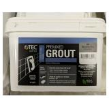 Text skill-set pre-mixed grout 10lb tub DeLorean