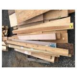 Large Lot of Various Types and Sized Lumber