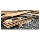 Large Lot of Various Wood Sheeting