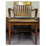 Johnson chair company, wooden chair