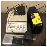 Lot of electronic gadgets