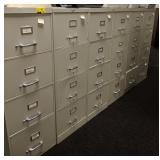 4 drawer, legal size, metal filing cabinet