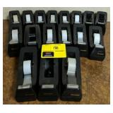 Large lot of tape dispensers