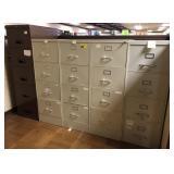 Legal size, 4 drawer, Metal filing cabinet