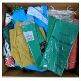 Large lot of tablecloths