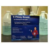 Pitney Bowes cleaning kit with e-z seal, and
