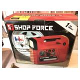 Shop Force Rechargeable Air Compressor