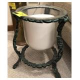 Large Decorative Candle With Stand
