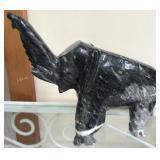 Carved Stone Elephant