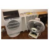 Lot Of Heaters And Fans