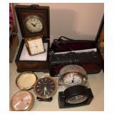 Lot Of Vintage Clocks