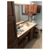 Contents Of Hall Bathroom
