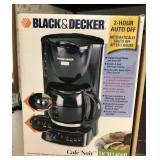 Black & Decker Cafe Noir Coffee Maker In Box