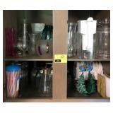 Large Lot Of Glassware and Other Kitchen Items