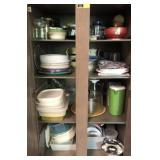 Large Lot Of Tupperware , Paper Plates, and More