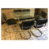 Glass Kitchen Table With Matching Chairs