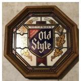 Vintage Old Style Sign