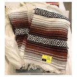 Lot of Southwestern  Blankets