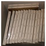 Lot Of Blank Canvasses