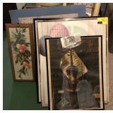 Lot Of Framed Art Work