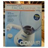 Conair facial sauna system