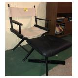 Directors Chair With Foot Rest