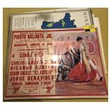 Vintage Sol Cerveza Poster With Wine Posters and