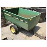 John Deere 15 yard cart, fencing included