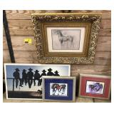 Lot Of Decorative Western Wall Art