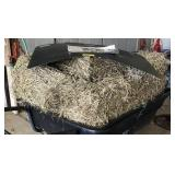 Lot Of 2 Bales Hay With Stable Hand, Does not