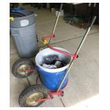Barrel Dolly With Buckets and More