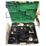 Hitachi Cordless Driver Drill Set