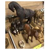 Lot Of Decorative Horse Items
