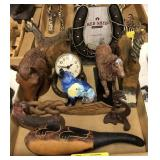 Lot Of Decorative Western Items