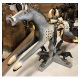 Western Style Horse Decor