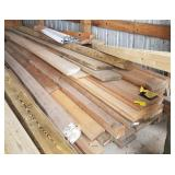 Large lot of lumber